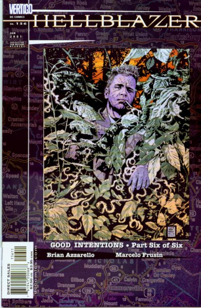 Hellblazer Cover