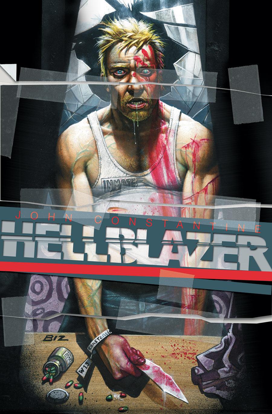 Hellblazer Cover