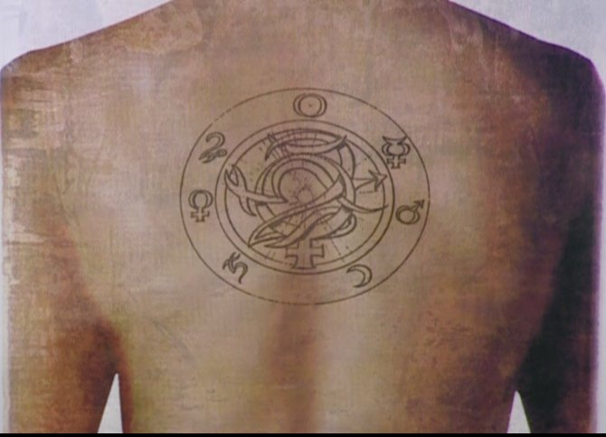 constantine 39 s back tattoo hellblazer voices from beyond